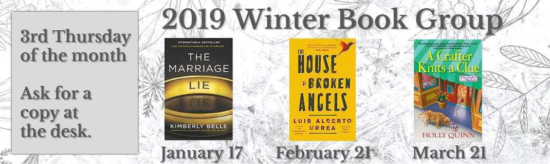 2019 Winter Book Group