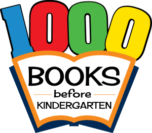 1000 Books Before Kindergarten Logo