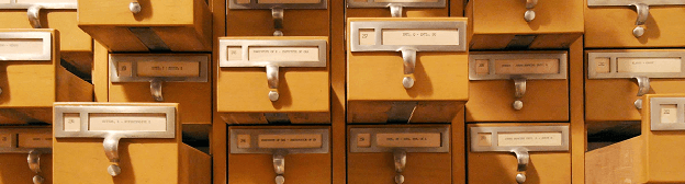 Card Catalog Drawers
