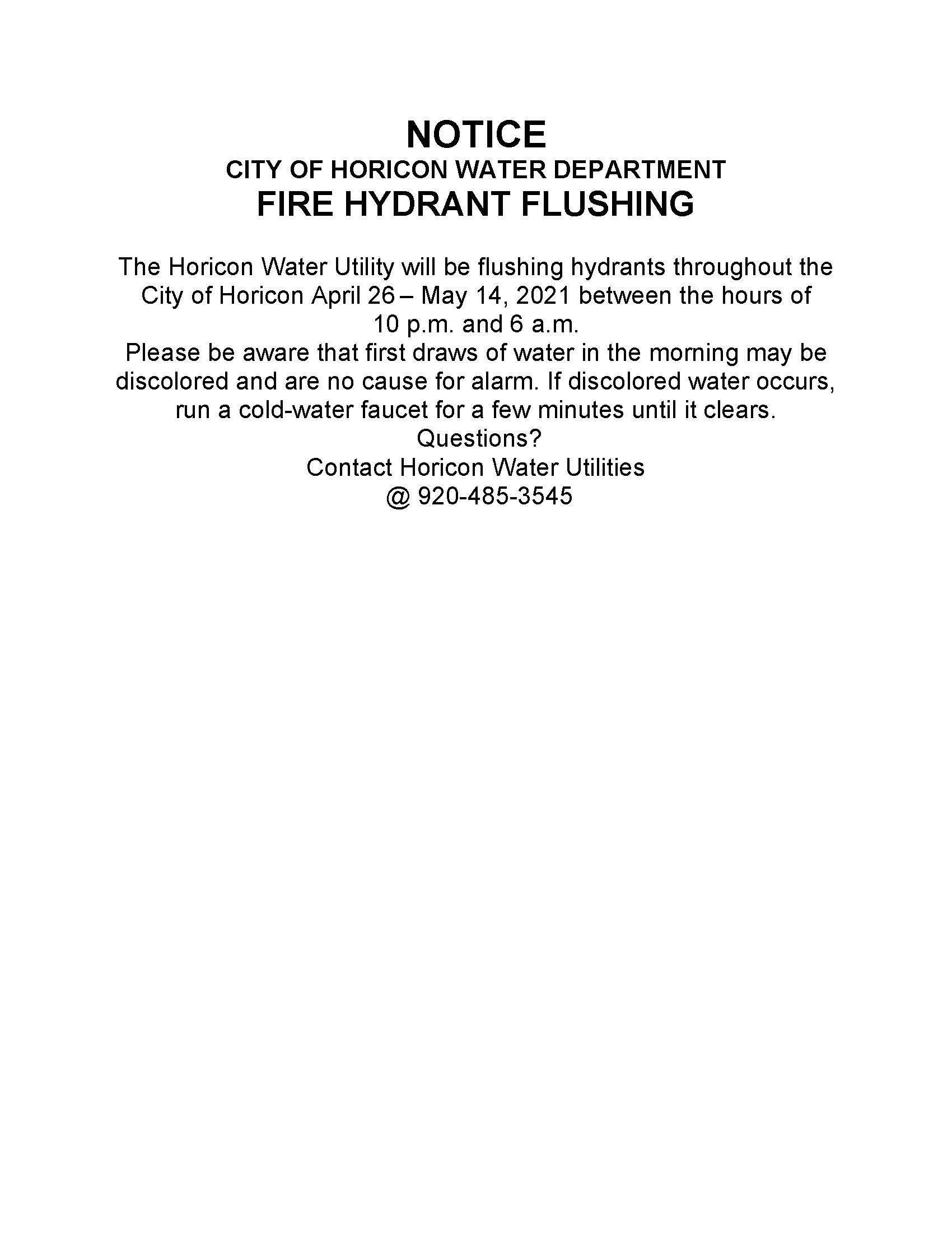 2021-04-19_Notice of Fire Hydrant Flushing